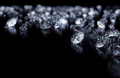 Fototapeta Diamanty pozadí