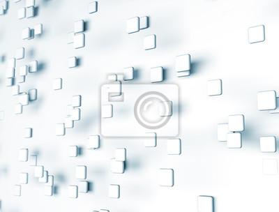 Fototapeta digitální kostky