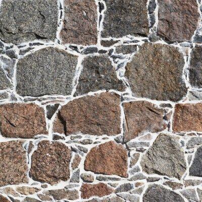 Fototapeta Dlažební kostky zdi fragment textura