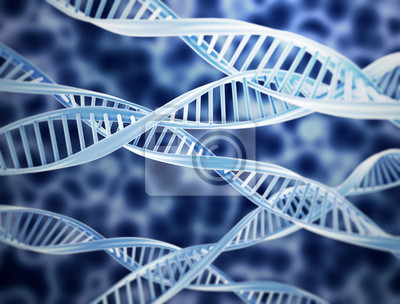 Fototapeta DNA Background