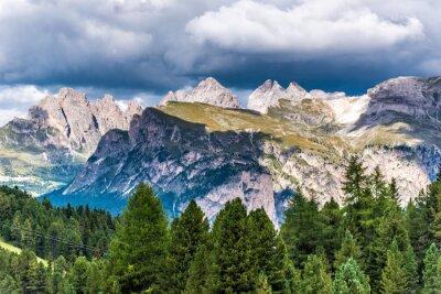 Fototapeta Dolomity Itálie - Val Gardena - Passo Sella