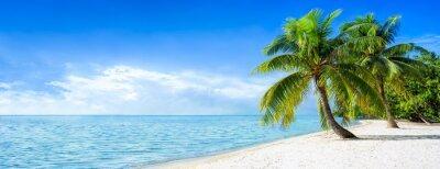 Fototapeta Dovolená na pláži panorama v létě