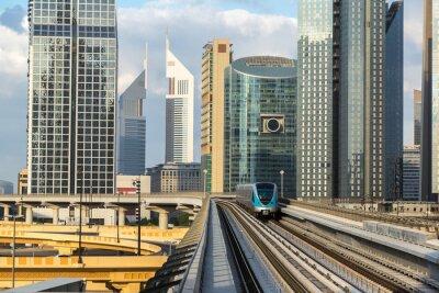 Fototapeta dubaj metro