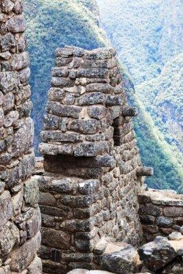 Fototapeta dům ve městě Machu Picchu