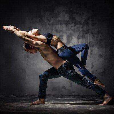 Fototapeta Dva tanečníci