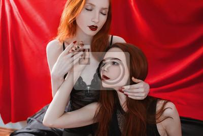 Fotografie černých lesbiček