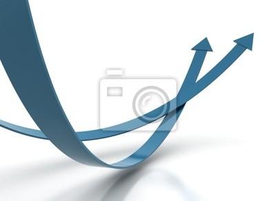 Dvě modré šipky - soutěž koncepce