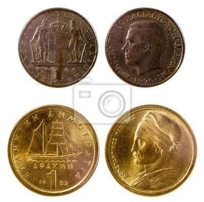 8f1648c02 Dvě staré řecké mince fototapeta • fototapety Evropa, Řek, Řecko ...
