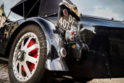 Fototapeta Editorial, 12.9.2015: Francie: XXXIIeme Festival Enthousiastes Bugatti v Molsheim. Veteránem.
