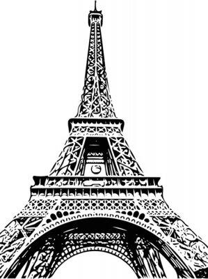 Fototapeta Eiffelova Věž