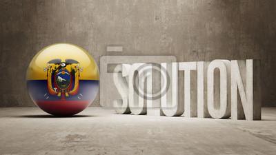 Ekvádor. Solution Concept.