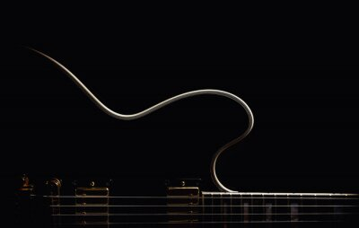 Fototapeta Elektrická kytara Abstraktní