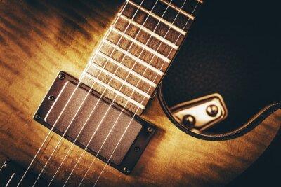 Fototapeta Elektrická kytara Concept