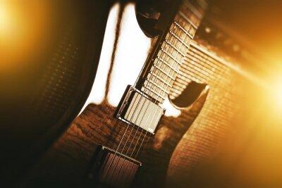 Fototapeta Elektrická kytara téma