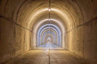 Fototapeta Endless Tunnel