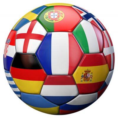 Fototapeta European Football