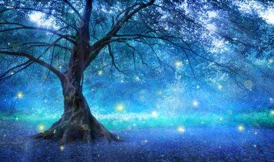 Fototapeta Fairy Tree V Mystic Forest