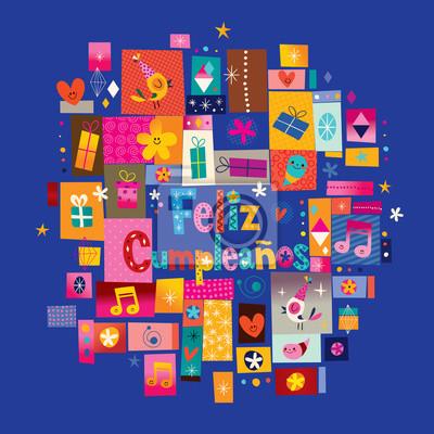 přání k narozeninám ve španělštině Feliz cumpleaños   happy birthday ve španělštině blahopřání  přání k narozeninám ve španělštině