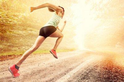 Fototapeta Female Runner