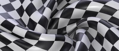 Fototapeta finish race flag illustration textil background