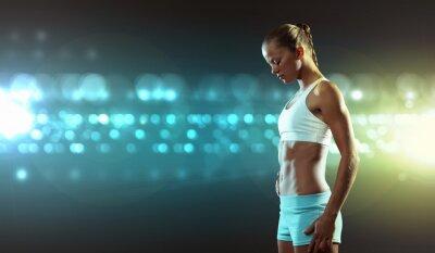 Fototapeta Fitness žena