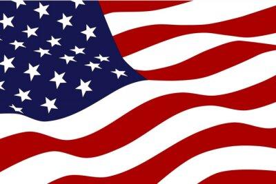 Fototapeta Flag of America
