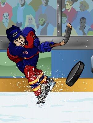 Fototapeta Florida ice hockey player.