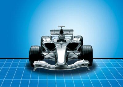 Fototapeta formule jedna, rychlost konceptu