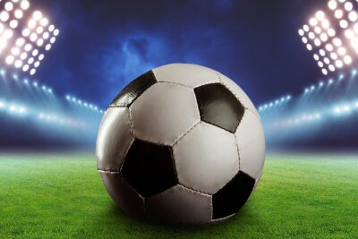 Fototapeta Fotbal na fotbalovém hřišti