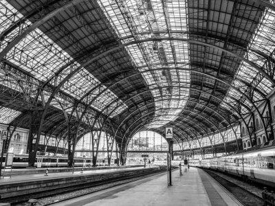 Fototapeta Francie Station, Barcelona