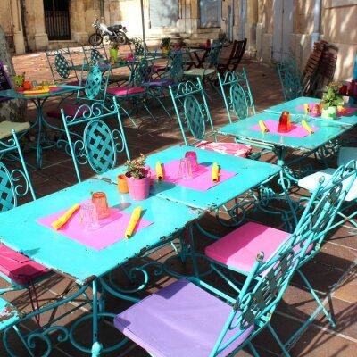 Fototapeta Francie - Terrasse (Provence)