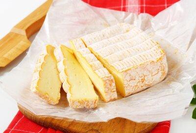 Fototapeta Francouzský promývá kůra sýrů