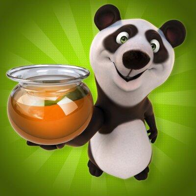 Fototapeta Fun panda