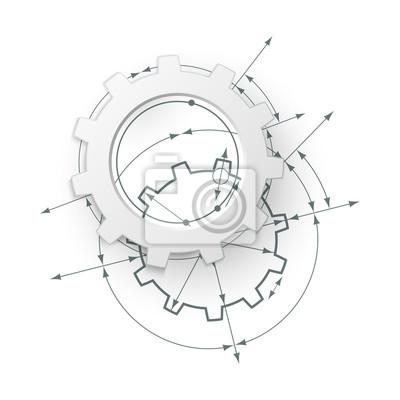 Gears V Angazma Strojirenstvi Kresleni Abstraktni Prumyslove