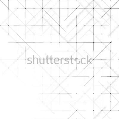 Fototapeta Geometrické jednoduché minimalistické pozadí. Trojúhelníky tečkovaný vzor. Vektorové ilustrace