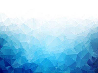 Fototapeta Geometrické modré led textury na pozadí