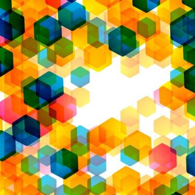 Fototapeta geometrické pozadí