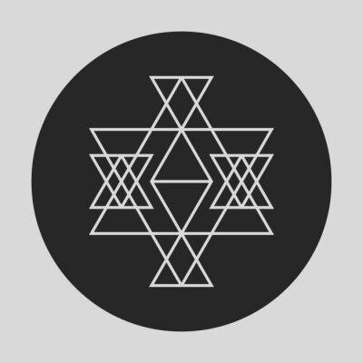 Fototapeta Geometrický grafický prvek