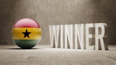 Ghana. Vítěz Concept.