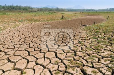 Fototapeta Globální oteplování, sucho.