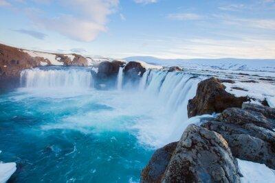 Fototapeta Godafoss vodopád, Island