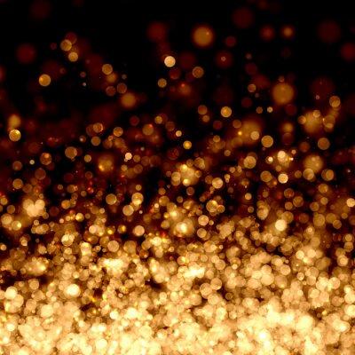 Fototapeta Gold abstraktní světlé pozadí