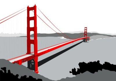 Fototapeta Golden Gate Bridge