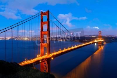 Fototapeta Golden Gate, San Francisco, Kalifornie