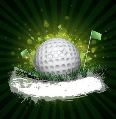 Fototapeta golf banner