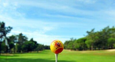 Fototapeta Golf ve Španělsku