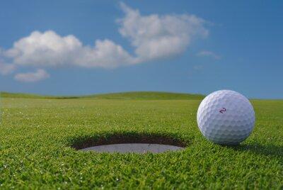 Fototapeta golfové hole a míček