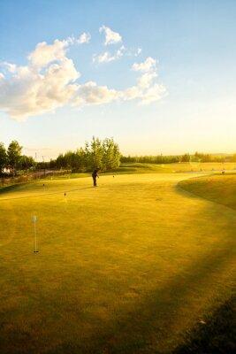 Fototapeta golfové kurzy