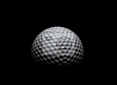 Golfový míček ve tmě