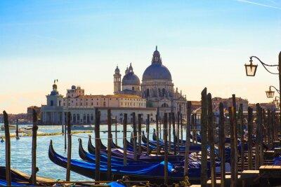 Fototapeta Gondoly, Benátky